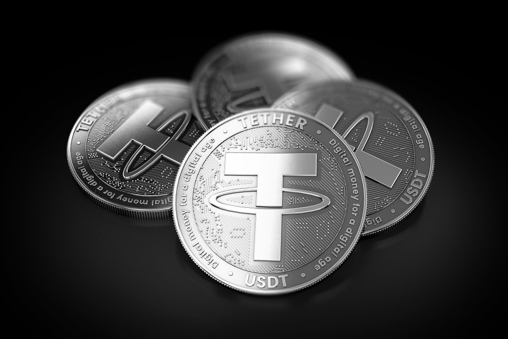 four tether coins