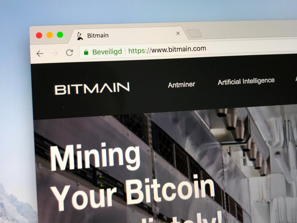bitmain website homepage