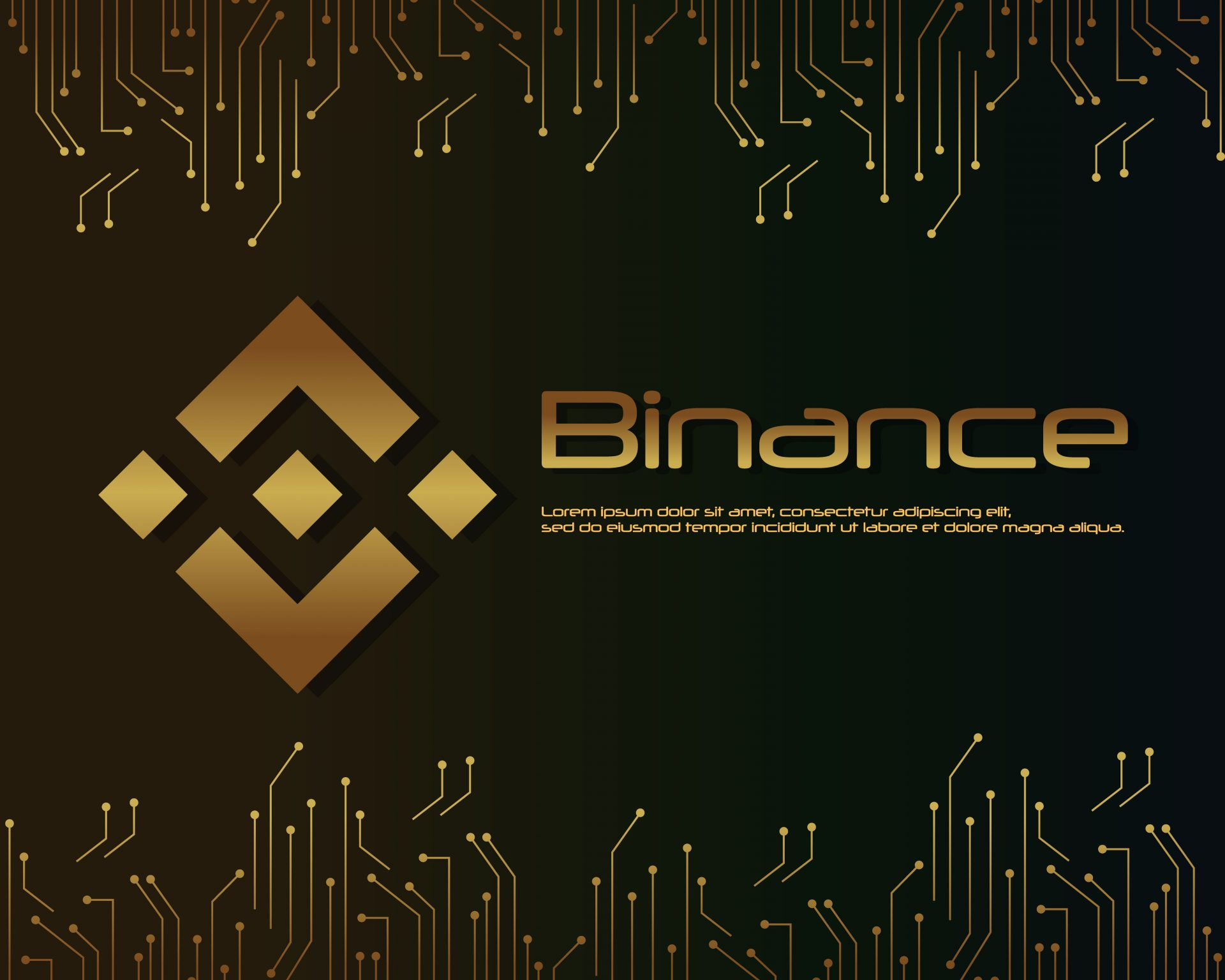 Background blockchain binance design